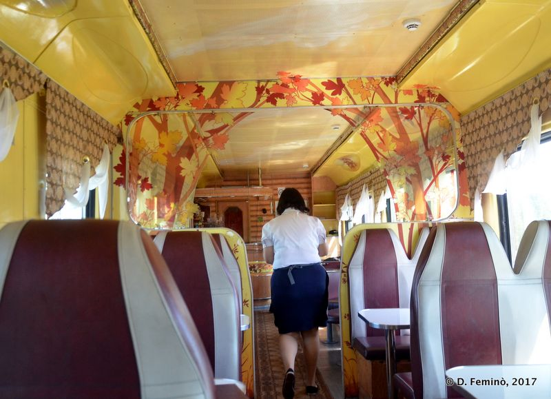Restaurant on the train