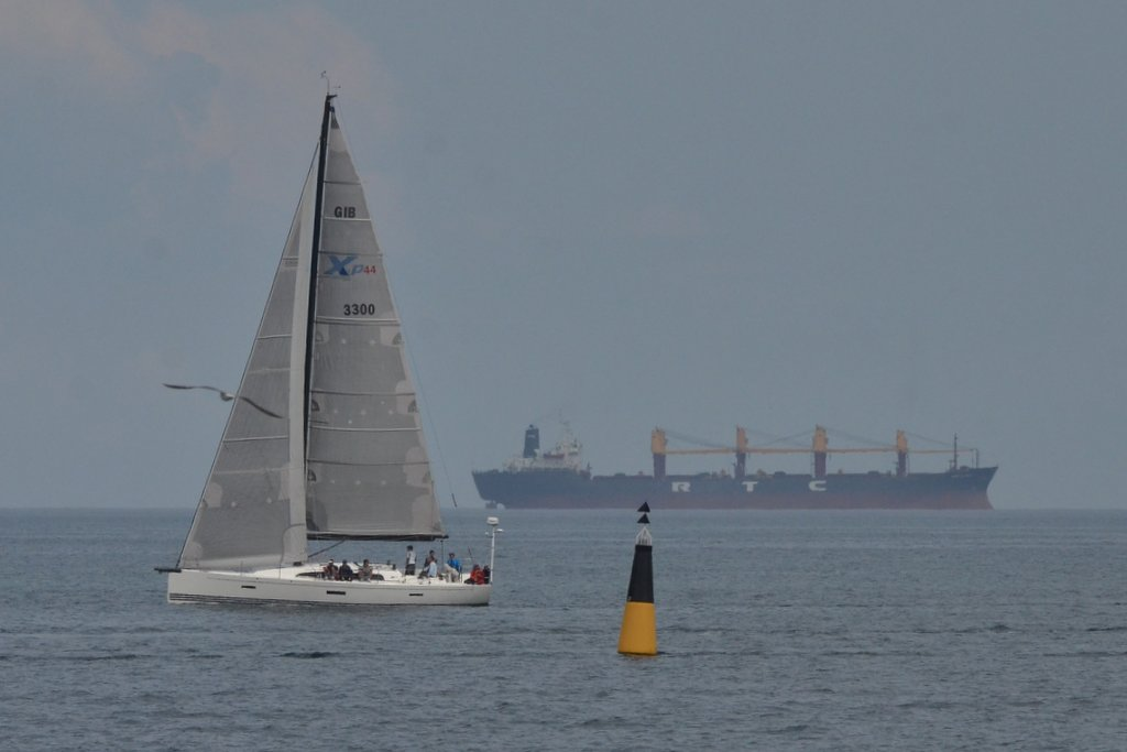 Odessa, Seagull-sailship-buoy-ship composition