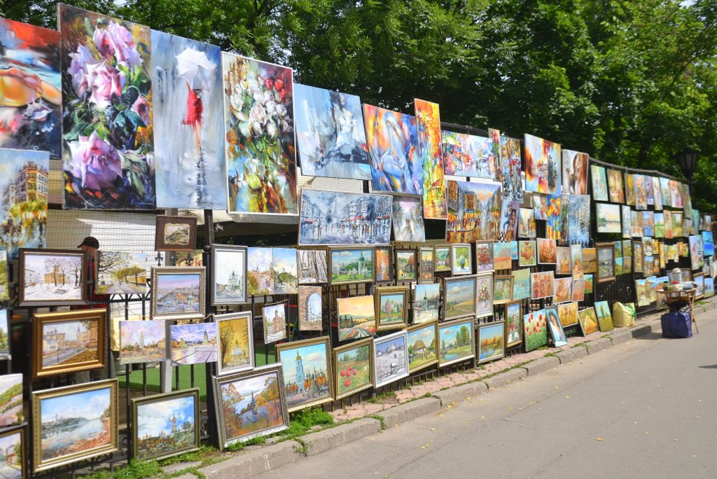 Kiev, Painting exposition