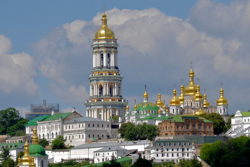 Kiev, Pechersk monastery complex