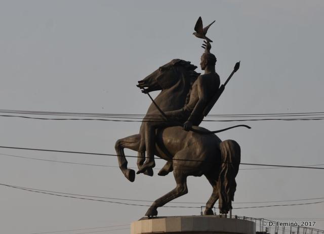 Equestrian Statue (Ulan Ude, Russia, 2017)