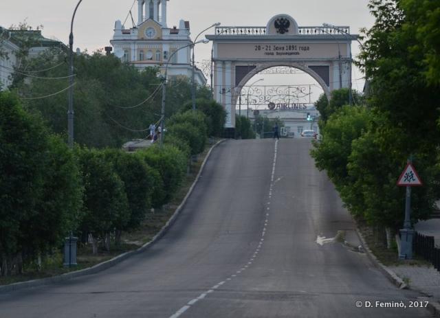 Royal Arch Gate (Ulan Ude, Russia, 2017)