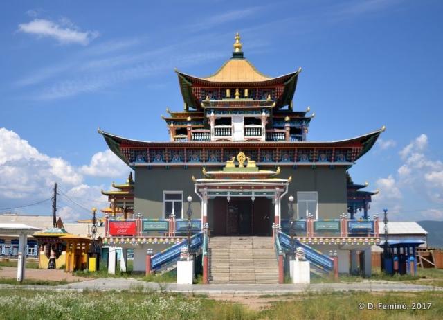 Buddhist temple (Ivolga, Russia, 2017)