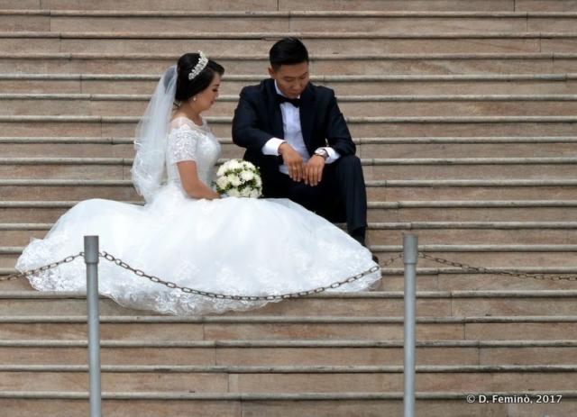 Wedding picture session (Ulaanbaatar, Mongolia, 2017)