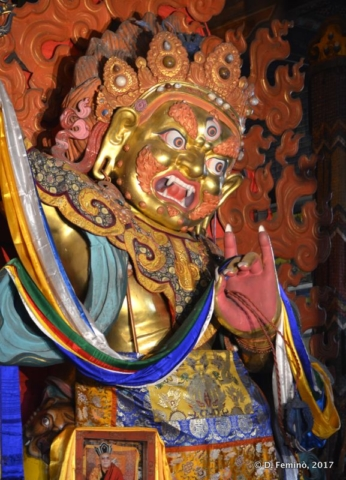 Scaring deity (Ulaanbaatar, Mongolia, 2017)