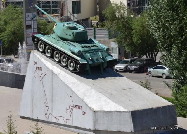 Tank of friendship (Ulaanbaatar, Mongolia, 2017)