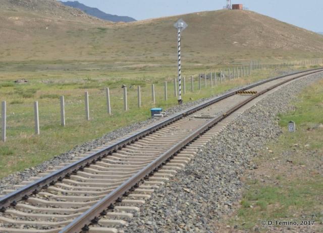 Transmongolian railway (Mongolia, 2017)