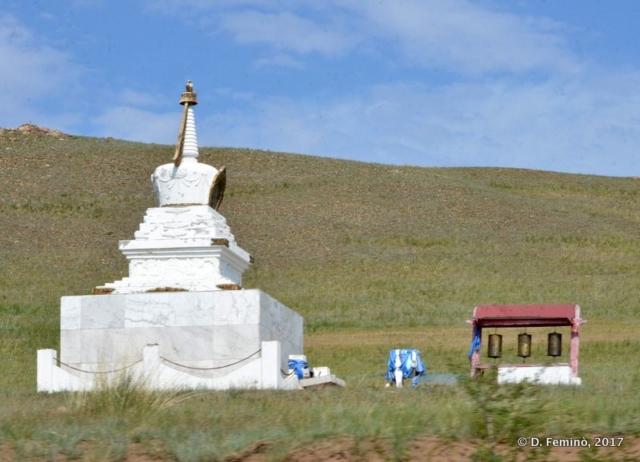 A stupa (Mongolia, 2017)