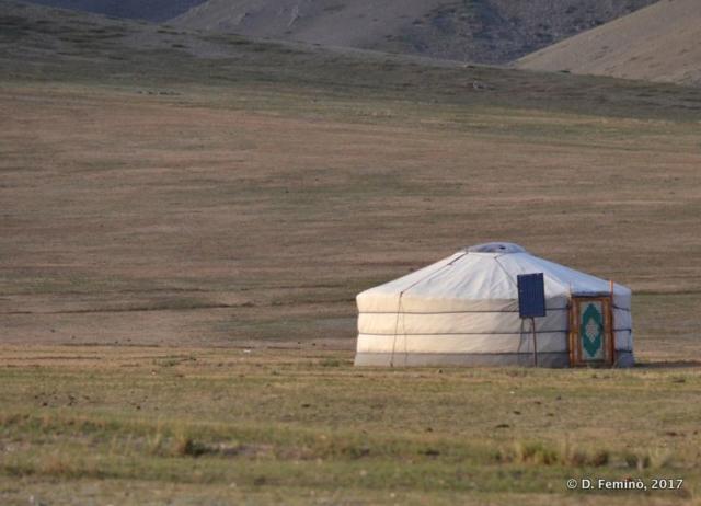 Typical landscape (Mongolia, 2017)