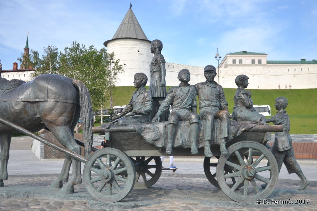 Kazan, Monument to Asgat Galimzyanov