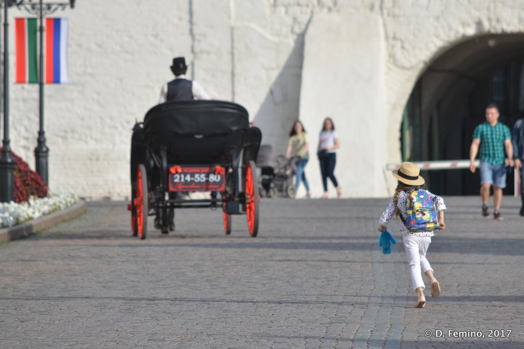 Kazan, Chasing the carriage