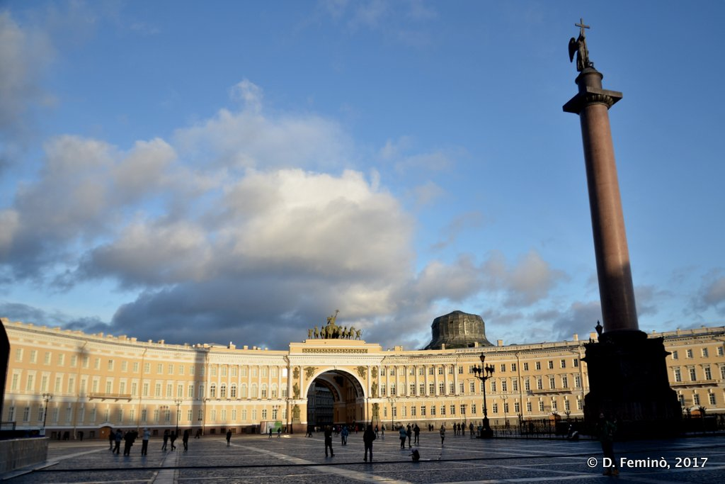 St Petersburg, Palace Square