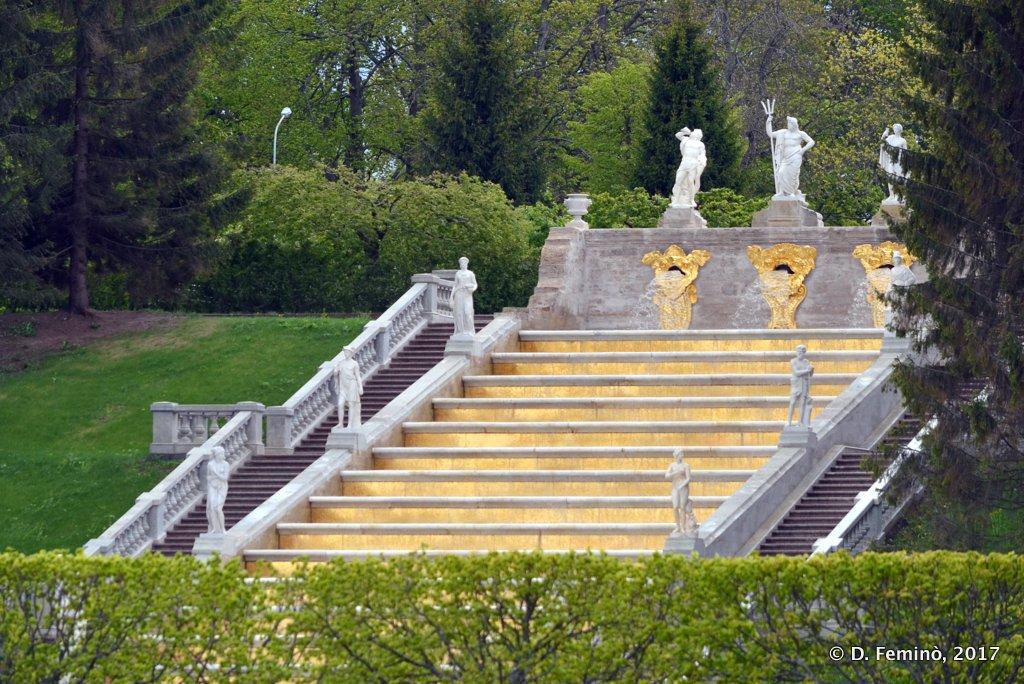 Peterhof, Stair cascade
