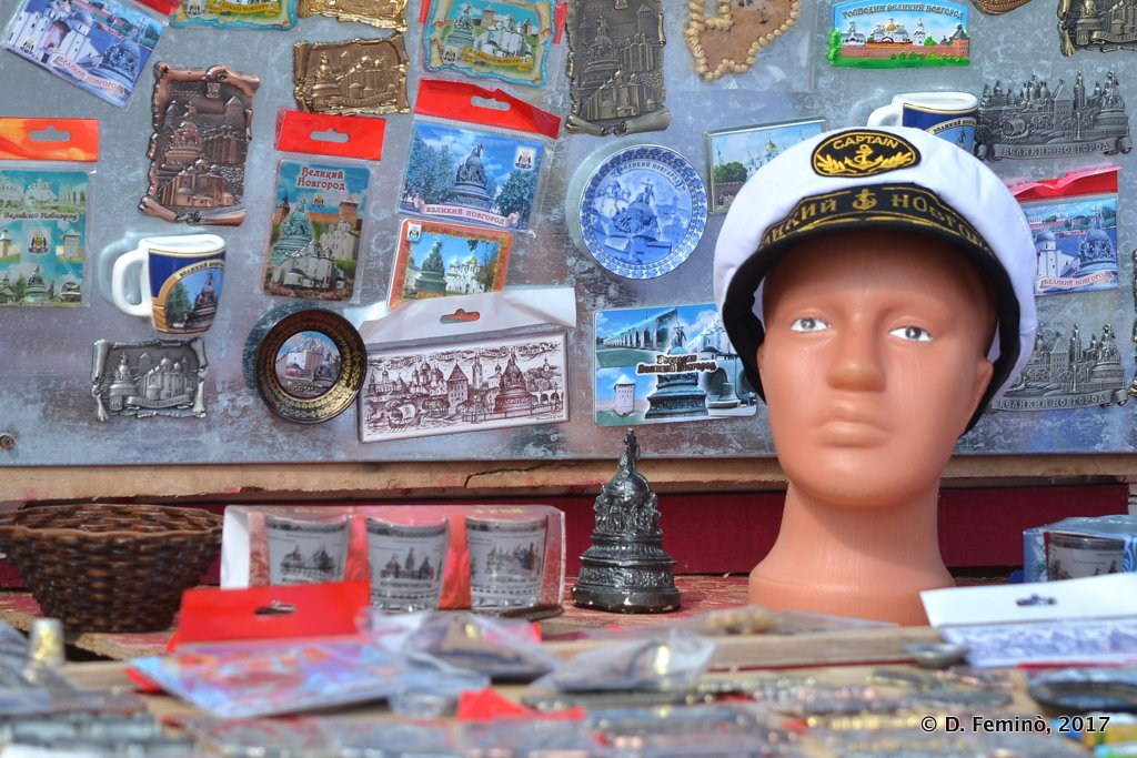 Veliky Novgorod, Souvenir stall