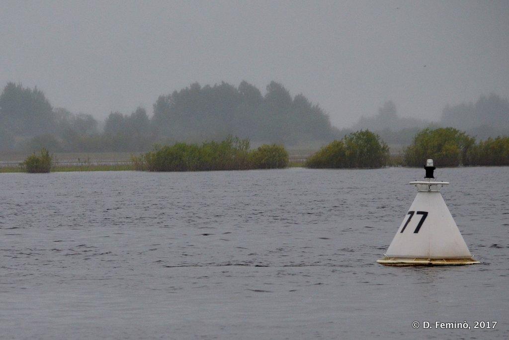 Veliky Novgorod, Buoy in lake Ilmen