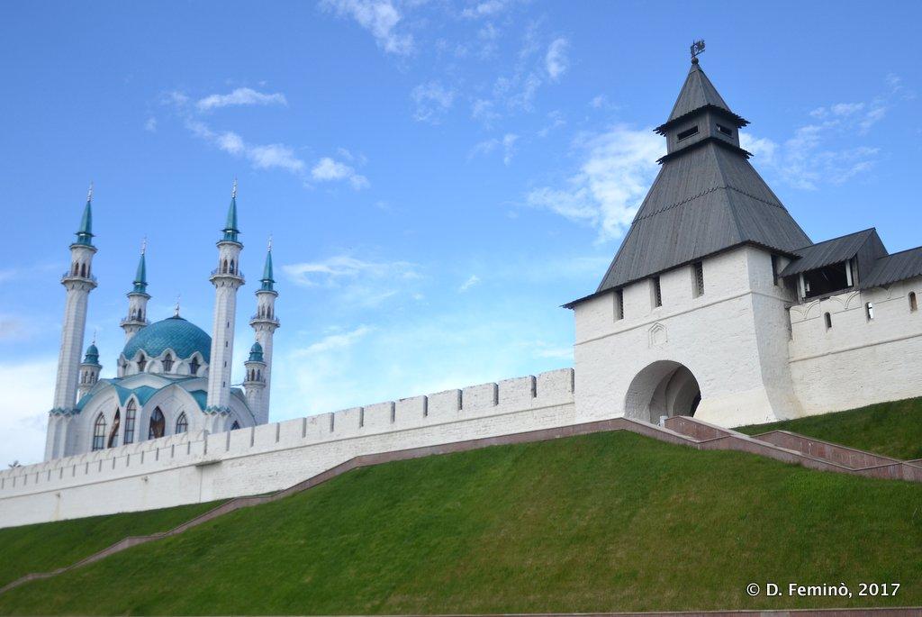 Kazan, Wall of the Kremlin