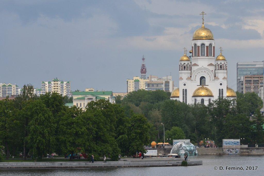 Yekaterinburg, Romanov monastery