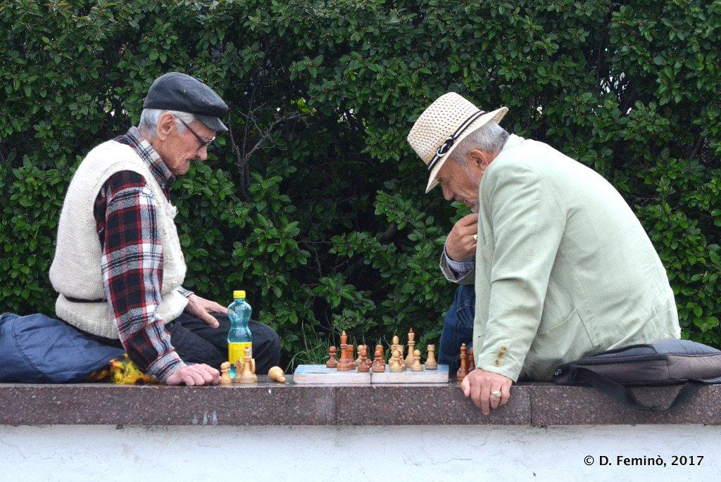 Yekaterinburg, chess players