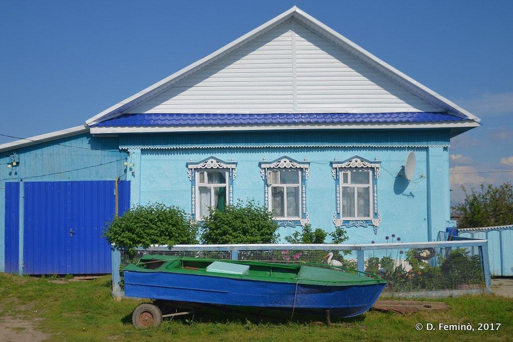 Abalak, a nice wooden house