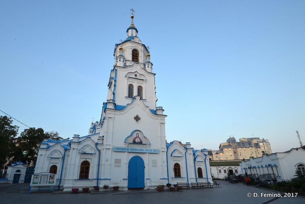 Tyumen, Znamensky church