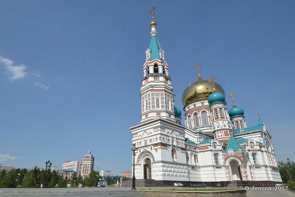 Omsk, Uspenski Cathedral