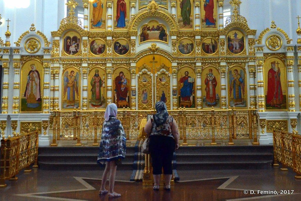 Omsk, Uspenski Cathedral interior