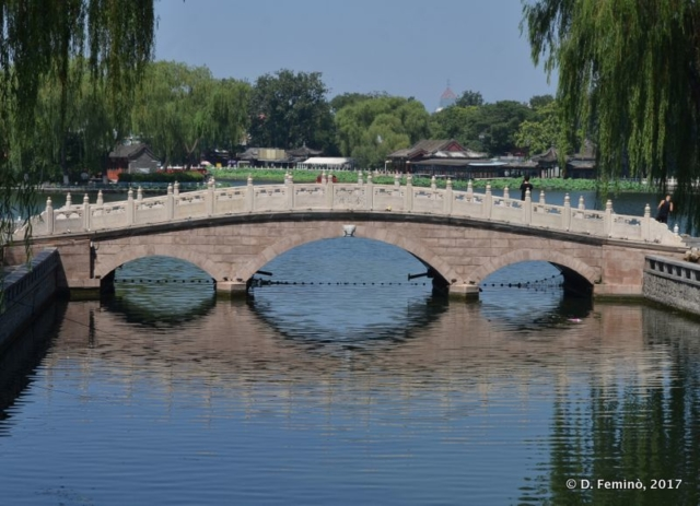 Bridge on Qianhai lake