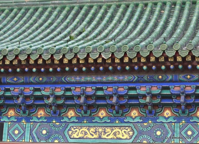 Detail in temple of heaven