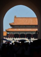 Entering Forbidden City