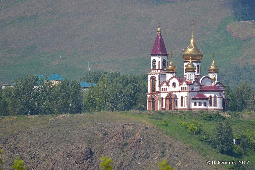 Krasnoyarsk, Small church on the hills near Stolby reserve
