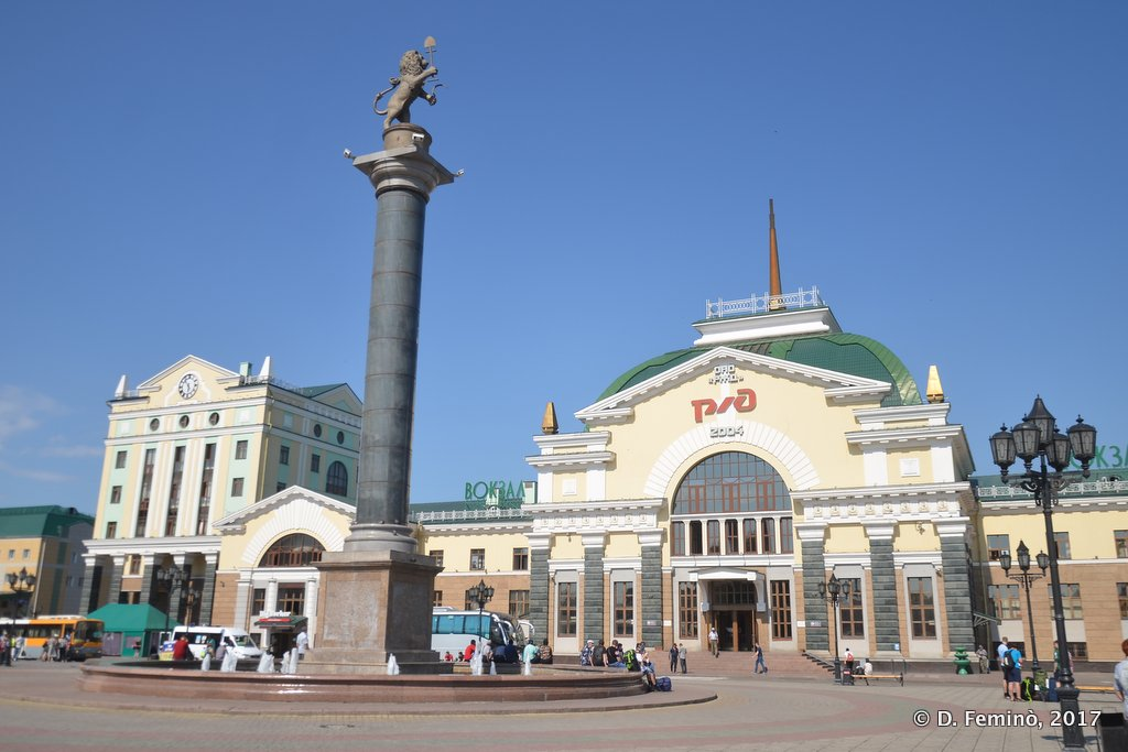 Krasnoyarsk, Railway station