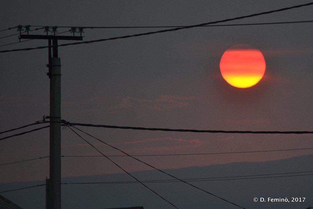 Khuzhir, Sunset