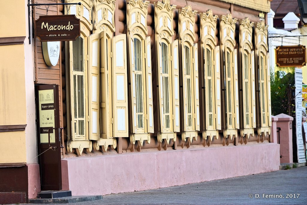 Ulan Ude, XIX century wooden house