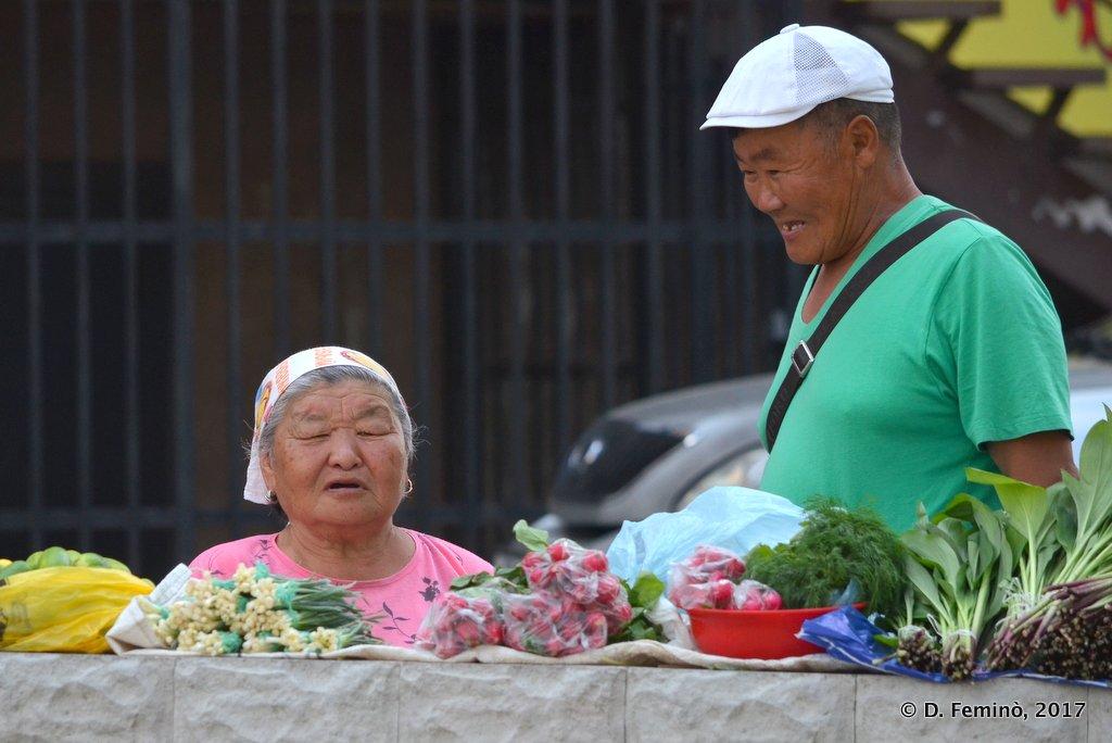 Ulan Ude, Flowers trading