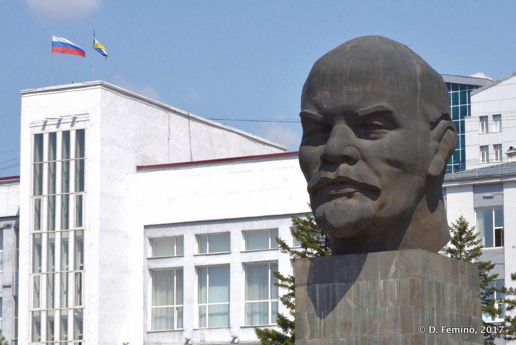 Ulan Ude, World biggest Lenin's head