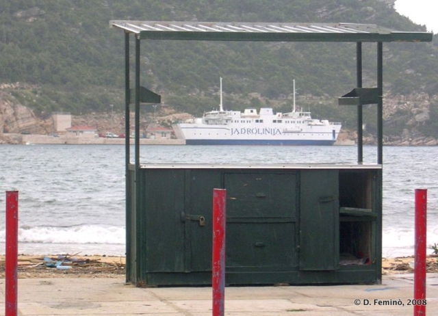 Framed ferry (Prapratno, Croatia, 2008)