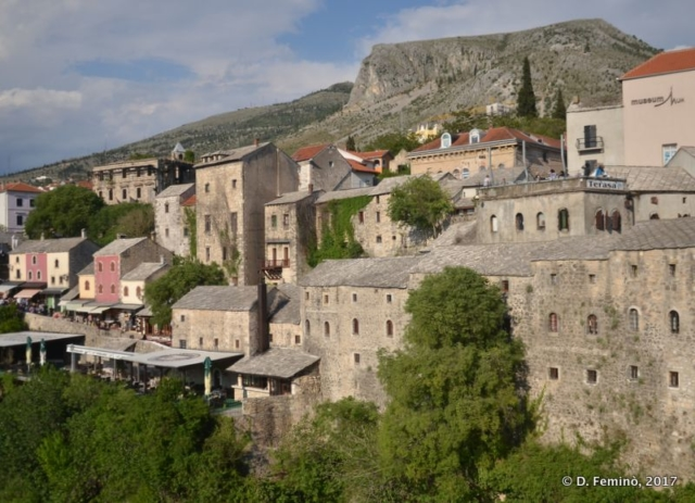 Another view on the old town (Mostar, Bosnia, 2017)