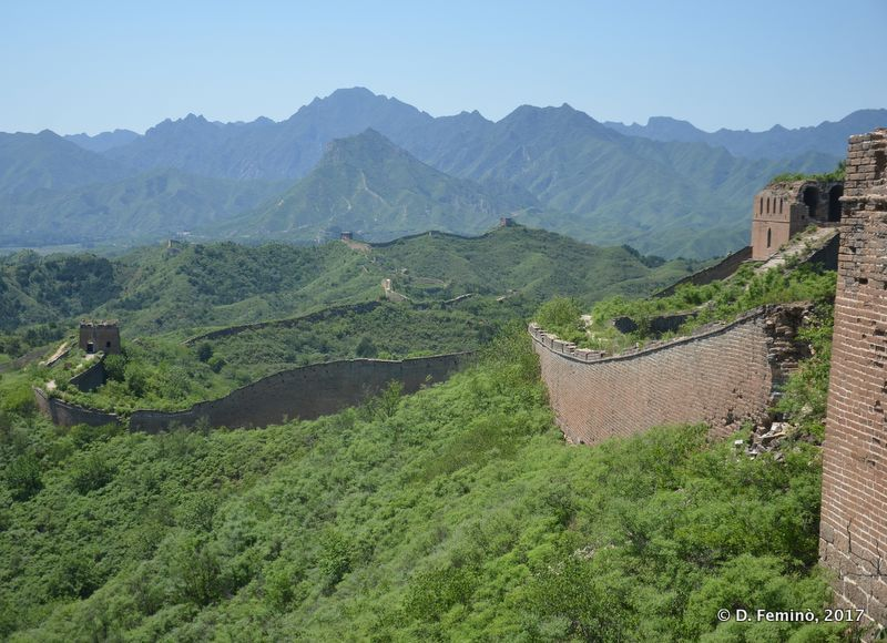 By the Great Wall (China, 2017)