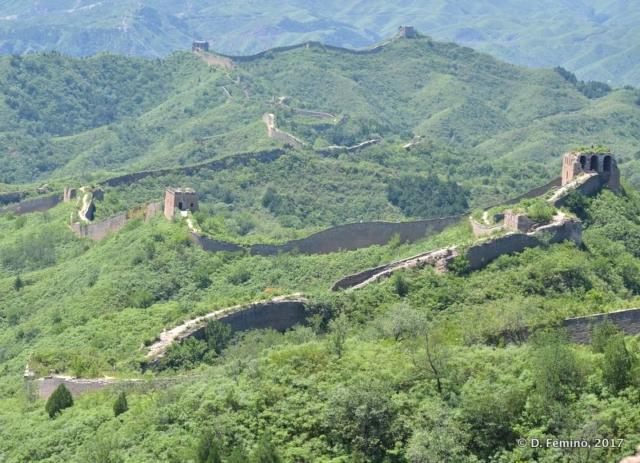 The long Great Wall (China, 2017)