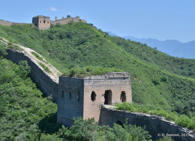 A section of the Great Wall (China, 2017)