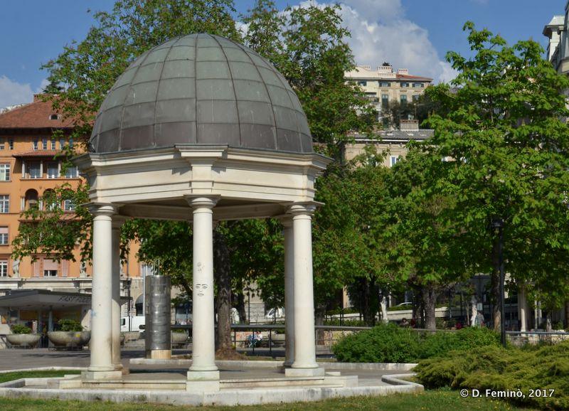 Neoclassical element (Rijeka, Croatia, 2017)