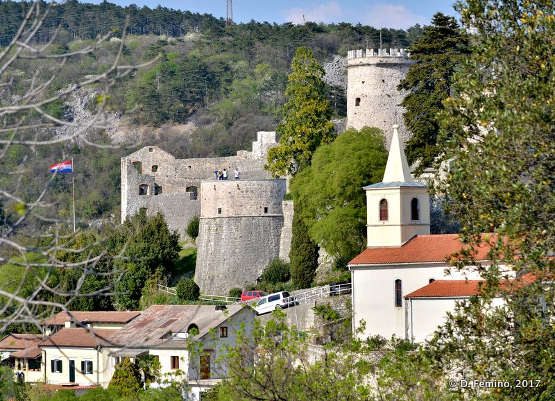 Trsat castle (Rijeka, Croatia, 2017)