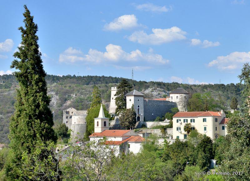 View of Trsat village (Rijeka, Croatia, 2017)