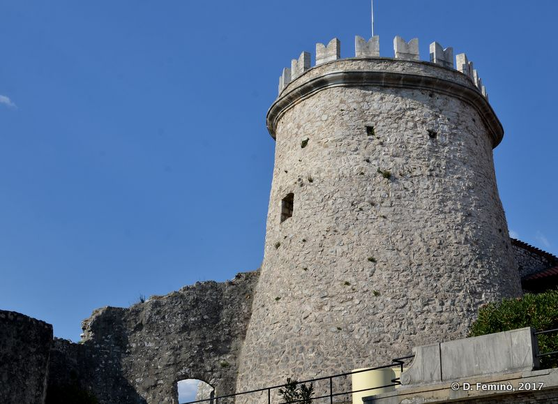 Tower of Trsat castle (Rijeka, Croatia, 2017)