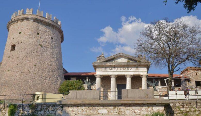 A view of Trsat castle (Rijeka, Croatia, 2017)
