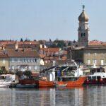 View of Krk town