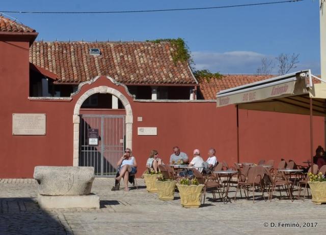 A cafè in town (Nin, Croatia, 2017)