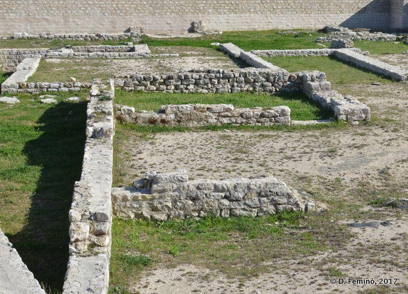 Roman ruins (Nin, Croatia, 2017)