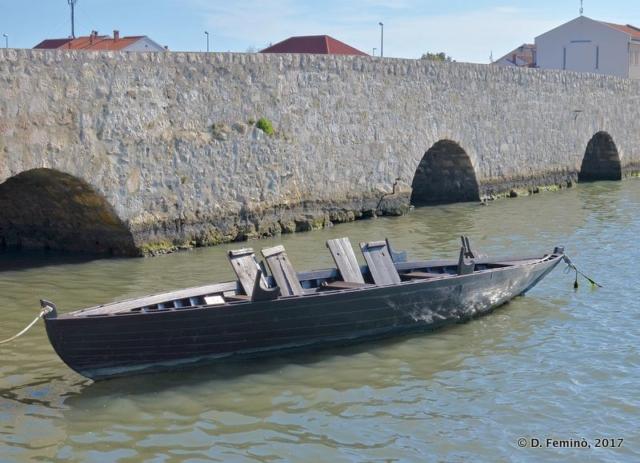 A viking boat (Nin, Croatia, 2017)