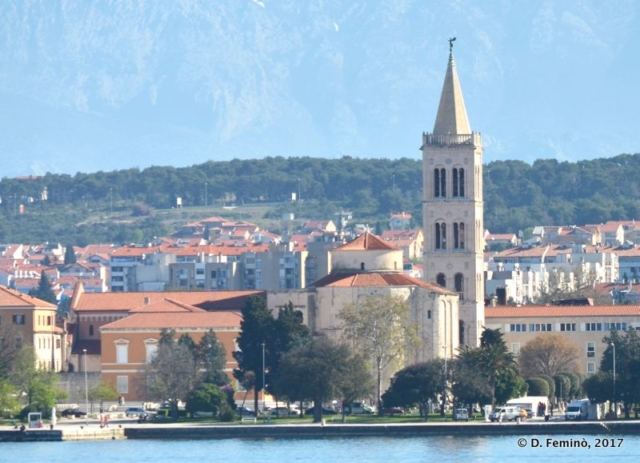 The town from the sea (Zadar, Croatia, 2017)